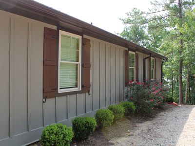 Photo for NEW! Adorable cabin with big water views on Lake Martin