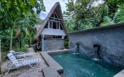 Photo for Sacred Spaces #2: Steps to Beach! Beautiful Balinese Style Home - Sleeps 4 comfortably, Pool!