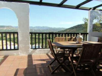 Photo for Andalusian house with private pool located in the nice village of Zagrilla Alta