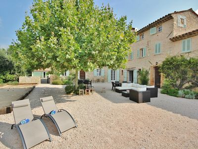 Photo for Large, renovated bastide in the South of France, near Valbonne