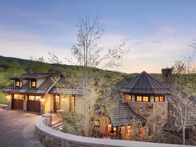 Photo for Spectacular ski in ski out 5 bedroom home in Snowmass CO.