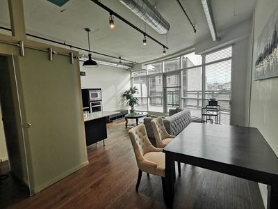 Photo for Luxury one- bedroom condo in downtown Victoria