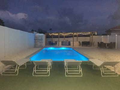Photo for Brand NEW 3 bedroom 2 bathroom home with large pool minutes from Palm Beaches