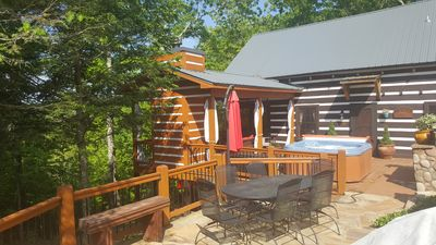 Photo for *HOT TUB* Beautiful out door living area.