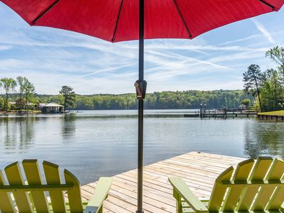 Photo for Haven on the Lake-Fall rates available now! Only 45 minutes from Auburn!
