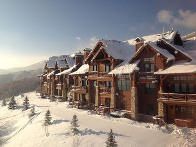 Photo for Deer Valley Slope Side Luxury...True Ski in/Ski Out Retreat