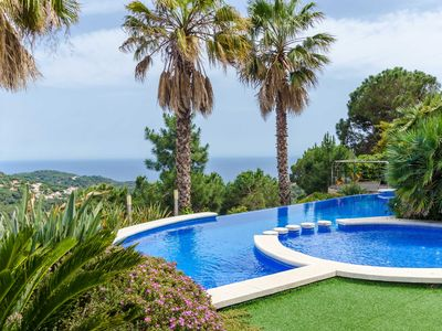 Photo for Club Villamar - Spectacular luxury villa with private swimming pool and stunning sea views! Spend...