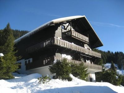 Photo for Holiday apartment Morgins for 4 - 5 persons with 2 bedrooms - Holiday apartment