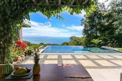 The views from villa luna are simply breathtaking!