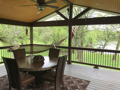 Photo for Old Hickory Lake Cottage with private covered dock