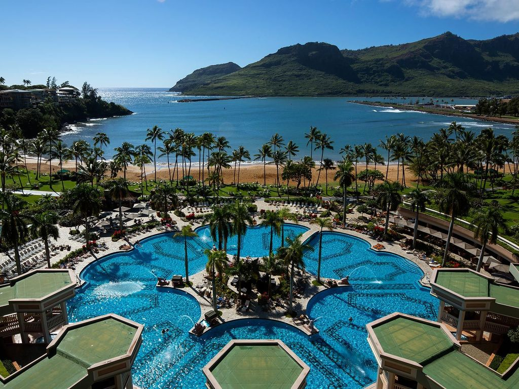 Hawaii Kauai Marriott Resort Beach Club The Best Beaches In