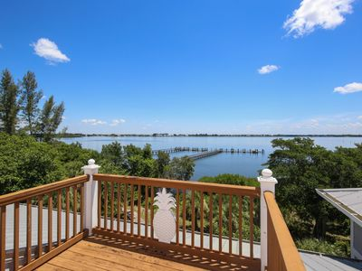 Photo for Enjoy the tranquility of Little Gasparilla Island at thisl waterfront pool home