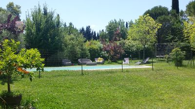 Photo for VILLA IN PEACE BETWEEN SEA AND GARRIGUE WITH SWIMMING POOL FOR 7/8 PEOPLE