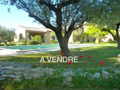 Photo for bastide d exception of 18 em, view, heated pool, play area, chbre climate
