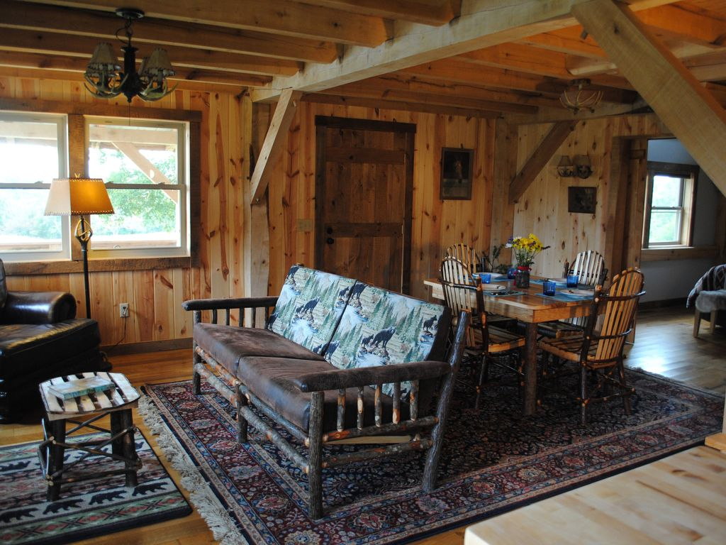 Cabin Rental In The Heart Of Adams County Ohio Rustic