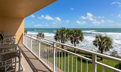 Photo for Enjoy your extra large balcony with Direct Ocean Front views