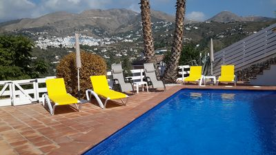 Photo for Beautiful refurbished villa, with stunning mountain and countryside views.