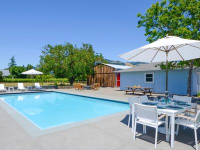 Photo for Wine Country Farmhouse with pool in heart of Sonoma Wine Country