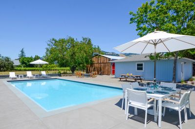 Wine country living at its best!