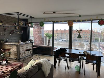 Photo for Spacious 4p modern apartment with a view