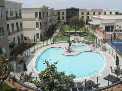 Photo for Equipped Studio Just 4-Minutes from the Airport   Fitness Center + Pool Access