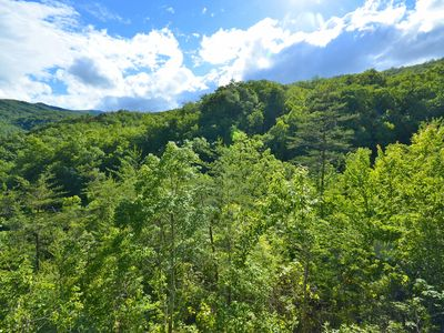 Photo for Fabulous Mountain Views, Secluded, Luxurious  , Arcades, Theater, More