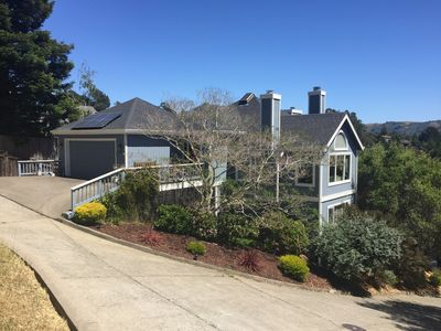Photo for BEAUTIFUL MILL VALLEY HOME WITH MAJESTIC VIEWS FOR RENT