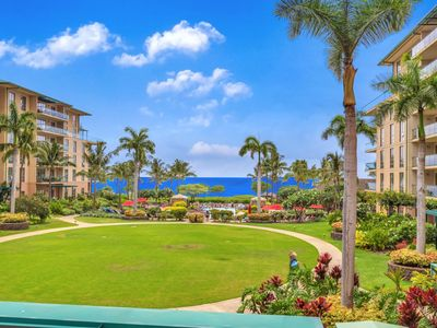 Photo for K B M Hawaii: Ocean Views, Gorgeous Inner Courtyard 2 Bedroom, FREE car! Nov Specials From only $229!