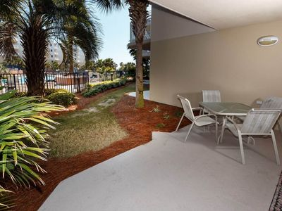 Photo for Spacious Ground-Floor Condo On Okaloosa Island! Waterfall, Lazy River