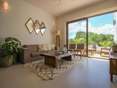 Photo for Two Story Penthouse & Hot Tub - with Bahia Resort Access