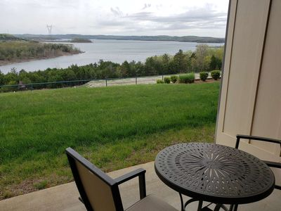 Photo for Spectacular Table Rock Lake View!! Ground Floor Condo, Sun Room & Covered Patio, Community Pool.