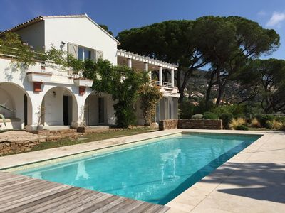 Photo for Superb sea view villa completely renovated with swimming pool and landscaped garden
