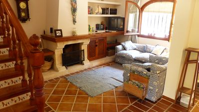 Photo for Beautiful house for rent Playa del Arenal private garden and communal pool