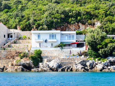 Photo for Paradise Beach house Becir  with private beach and jacuzzi near Dubrovnik