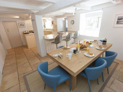 Photo for Luxury Pet Friendly Cottage with Parking & Wifi.  Sleeps 6, Fantastic Location, Centre of St Ives