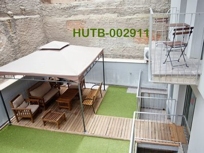 Photo for Apartment in Barcelona with Internet, Air conditioning, Lift, Terrace (18161)