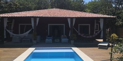 Photo for quiet cottage with private pool and terrace with open views of Pipa