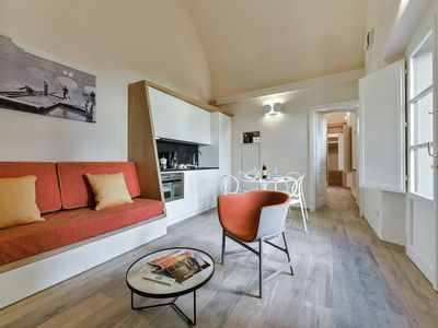 Photo for Corte Dragomanni - Modern 2bdr under the Corridor Vasariano in Florence