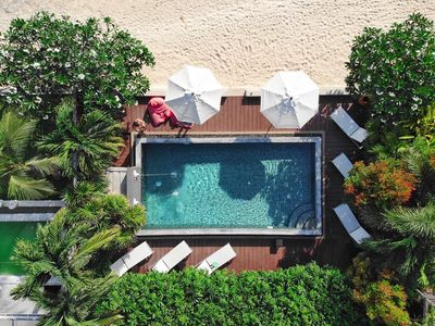 Photo for Pool villa on secluded beach, pool, maid