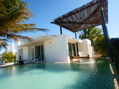 Photo for La Casita de Chelem House / with a beautiful Mayan pool