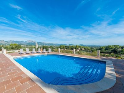 Photo for SOLIVAR (CORRITX 2) - Villa with private pool in Selva.
