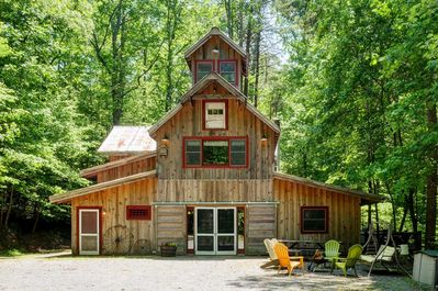 Escape the hustle and bustle of life and head to this vacation rental cabin!