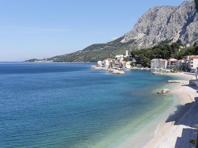 Photo for Two bedroom apartment near beach Drašnice (Makarska)