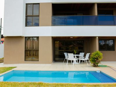 Photo for CPG01 Comfortable apartment with private pool Porto de Galinhas