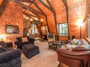 Large cozy cabin perfect for a weekend getaway
