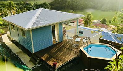 Photo for ATLANTIC BUNGALOW / PRIVATE POOL