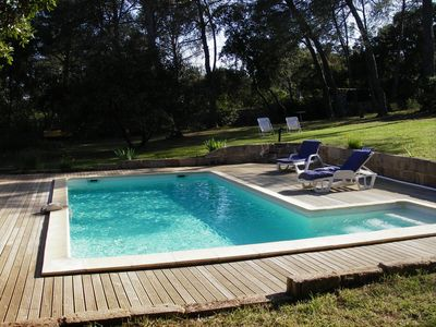 Photo for VILLA NICE, QUIET, LARGE LOT WITH TREES AND POOL