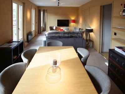 Photo for Beautiful apartment Megève, city center
