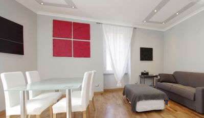 Photo for charming apartment 100 meters from St. Peter's Basilica