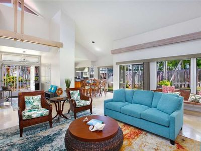 Photo for Poipu Villa Spacious One-Story *Lanai Villas 38*